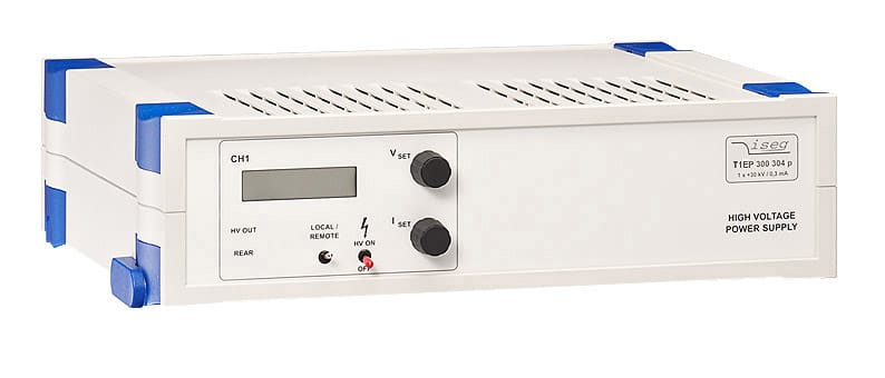 THQ High voltage power supply with 60 W EPS converters from Iseg Spezialelektronik GmbH