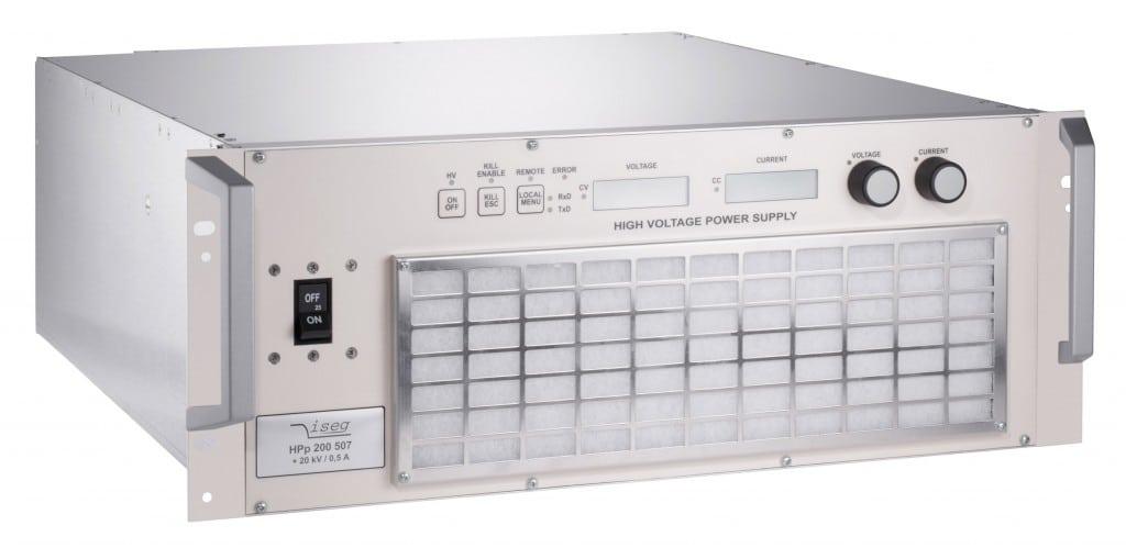 Alimentation HT 6 kW et 10 kW de 1 kV a 20 kV Iseg Spezialelektronik GmbH