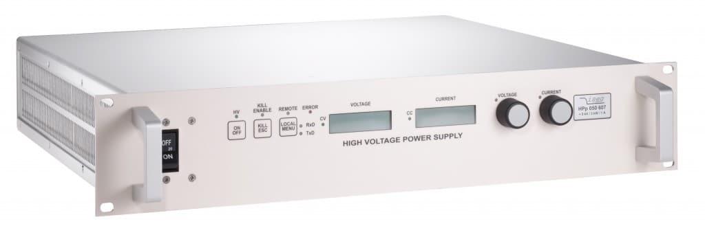 Alimentation haute tension HPS 1500 W et 3000 W de 1 kV a 100 kV Iseg