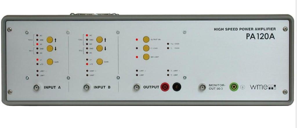 Amplificateur de puissance basse tension PA120 tension 30 V et courant max 10 A
