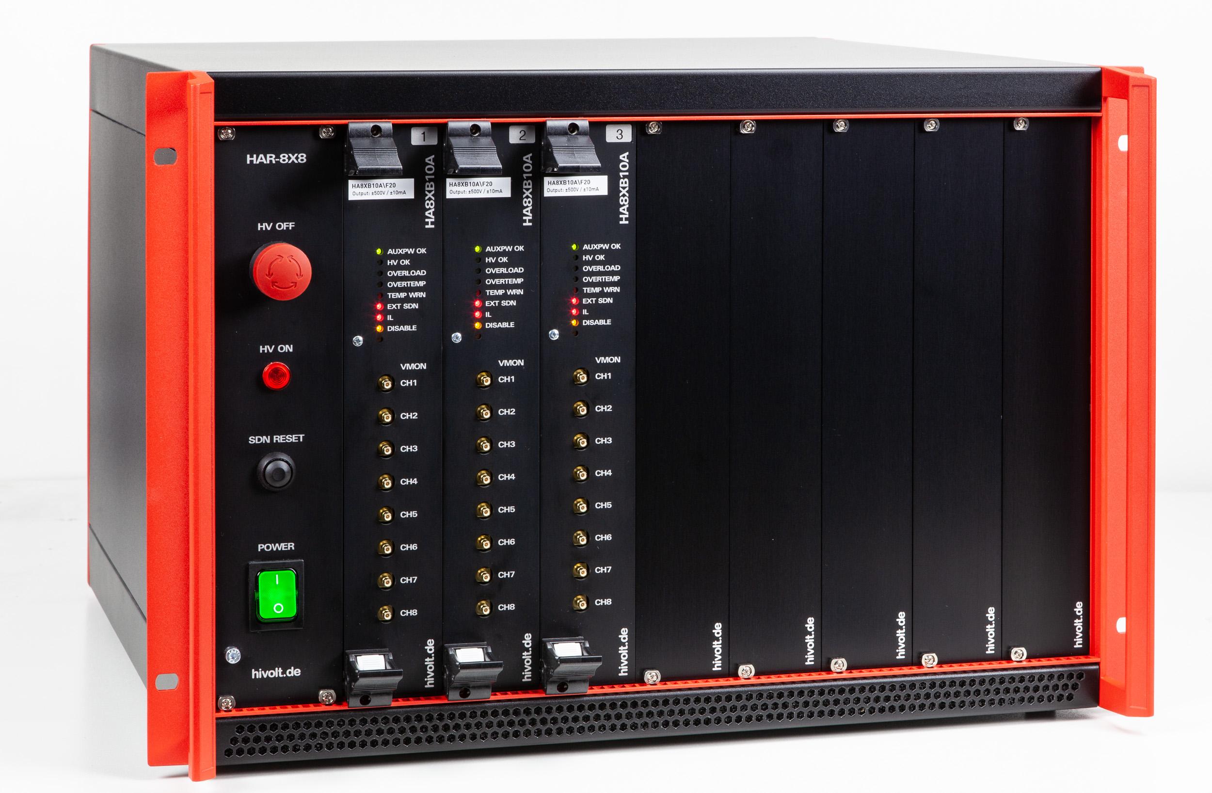 Amplificateur haute tension HAR-8X8A HIVOLT.de