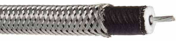 Cable haute tension blinde coaxial 50 kV 2032S Hivolt