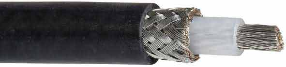 Cable haute tension blinde coaxial 10kV 2232 Hivolt