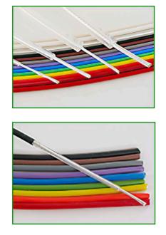Cable haute tension non blinde diélectrique FEP 15kV HFP series Hivolt
