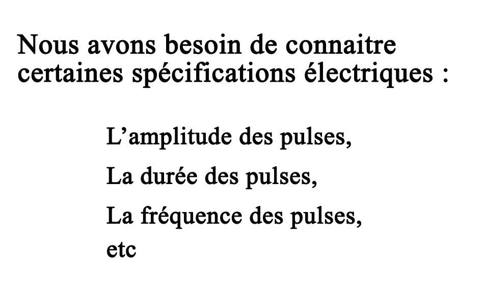 Generateur à impulsions haute tension cahier des charges