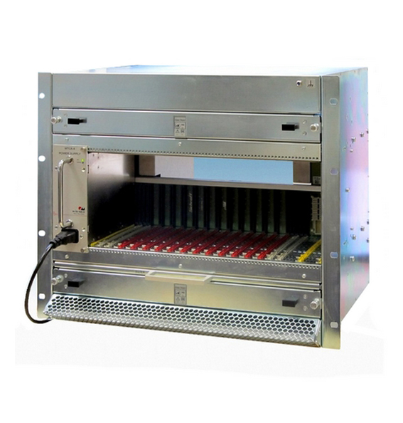 Chassis WIENER Power Electronics (MicroTCA)