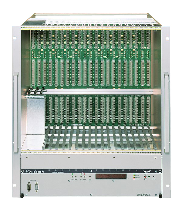 Chassis standard VME64 21 slots cartes 9U