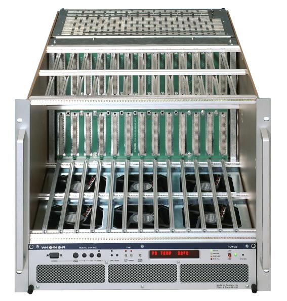 Crate VXI WIENER Power Electronics