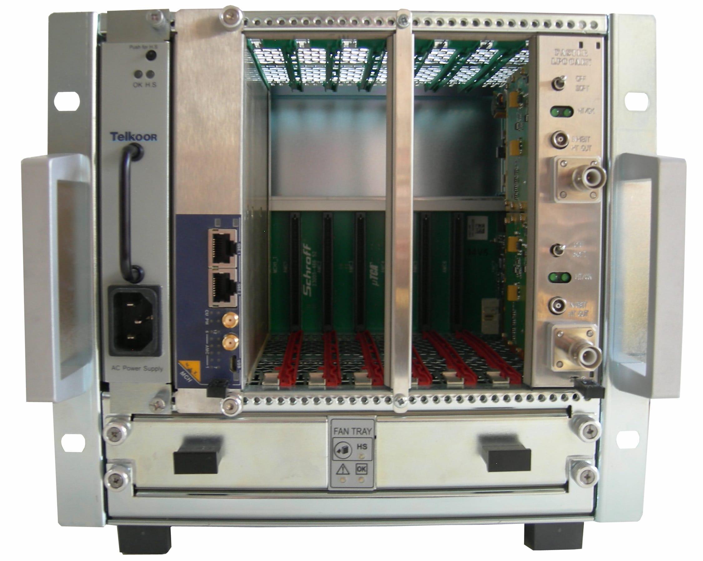 Module haute tension au standard MicroTCA du projet FASTER