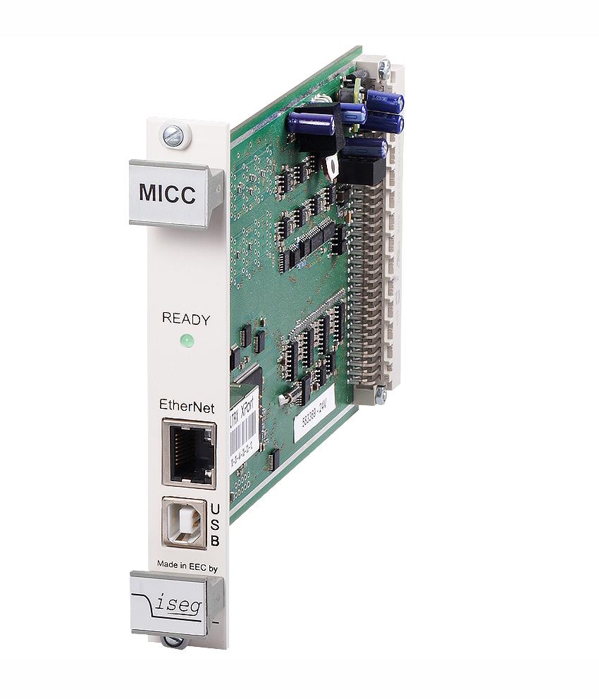 Controleur universel MICC pour chassis haute tension ECH ISEG