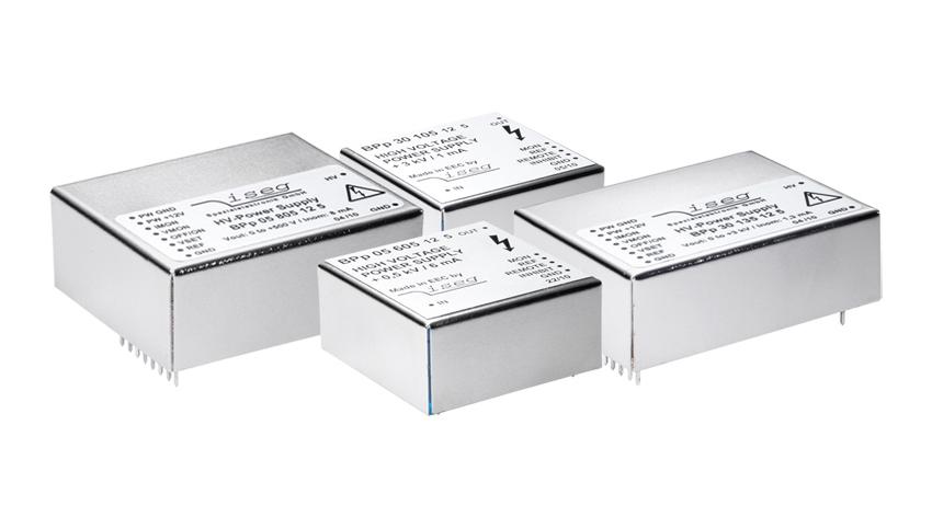 Convertisseurs haute tension DC serie BPS pour circuit imprimé PCB