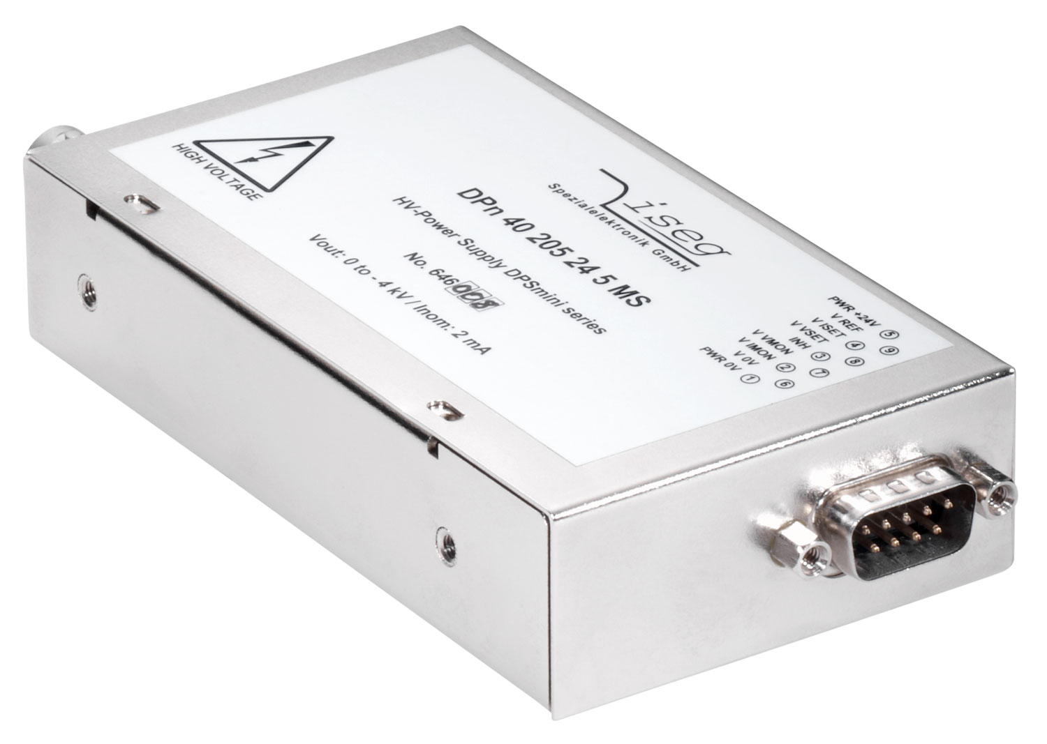 Convertisseur haute tension DC DPS-Mini 4 kV 2 mA ISEG