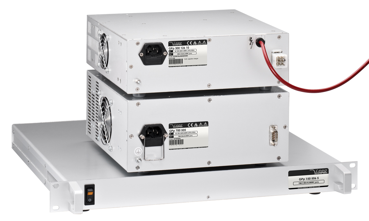 GPS High voltage power supply in 19' rack format or 'Compact' box