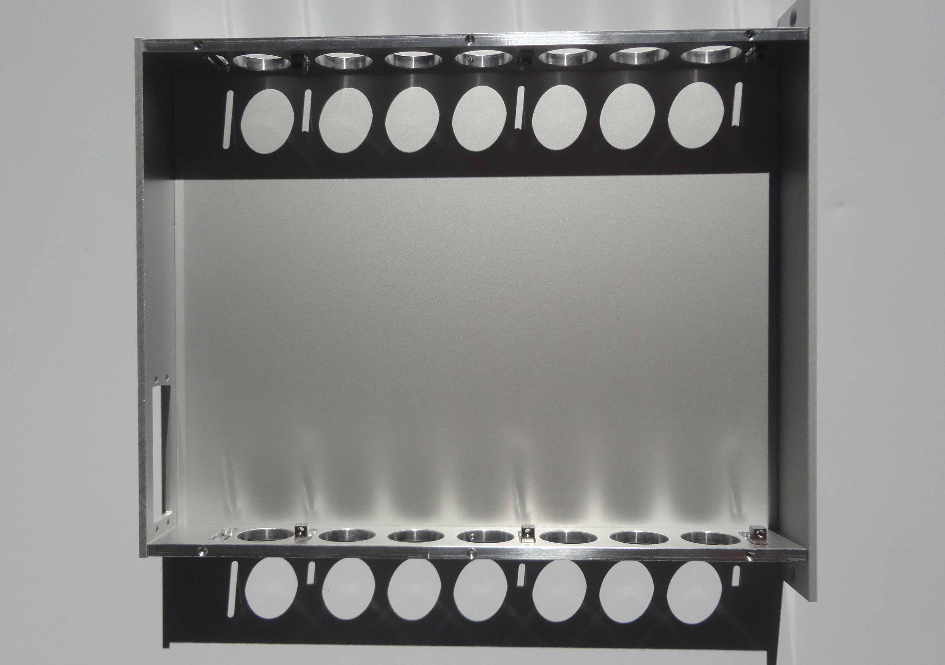 Installation panneau avant mecanique NIM WIENER