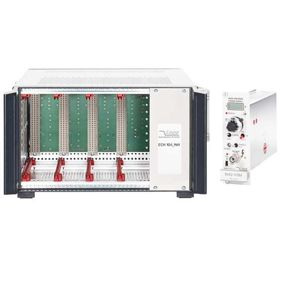 Instrumented 3U high voltage module for Iseg Spezialelektronik chassis