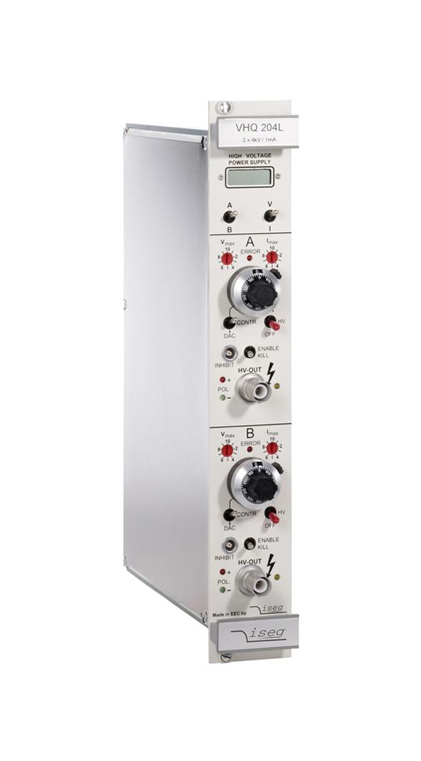 Modules haute tension VME64 série VHQ Standard ISEG