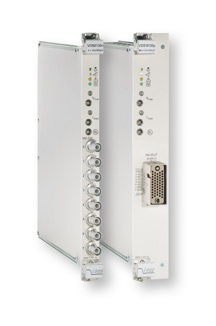 Modules haute tension VME64 série VDS ISEG