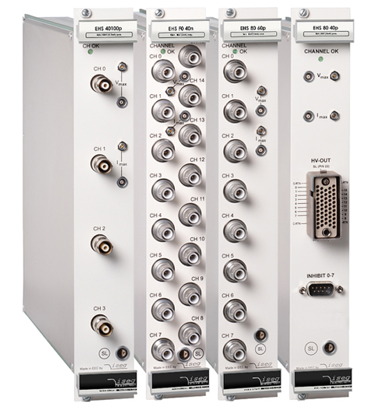 Cassette multivoies 1 à 32 voies Iseg Spezialelektronik