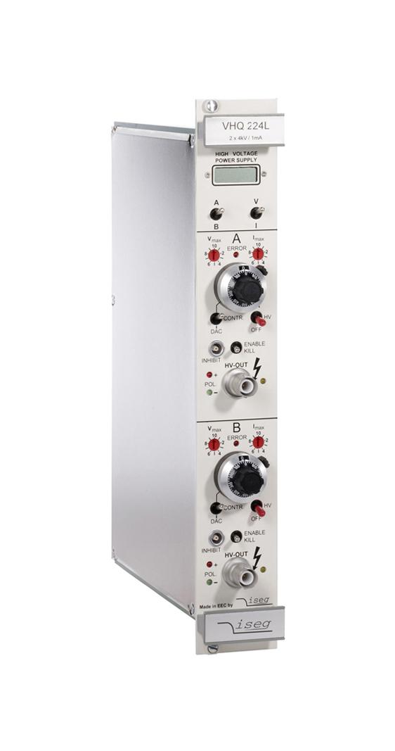 Modules haute tension VME64 série VHQ Haute Précision ISEG