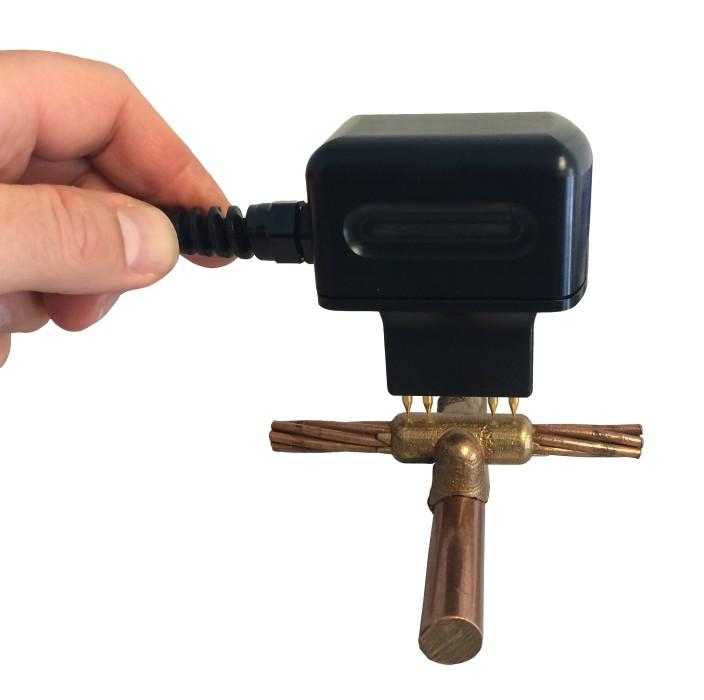 Sonde micro ohmmètre DRM-4012 pour soudure aluminothermique