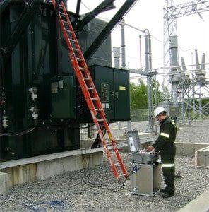 Testeur enroulement transformateur puissance WRT-10 NDB Technologie