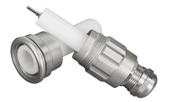 Connector for shielded high voltage cable