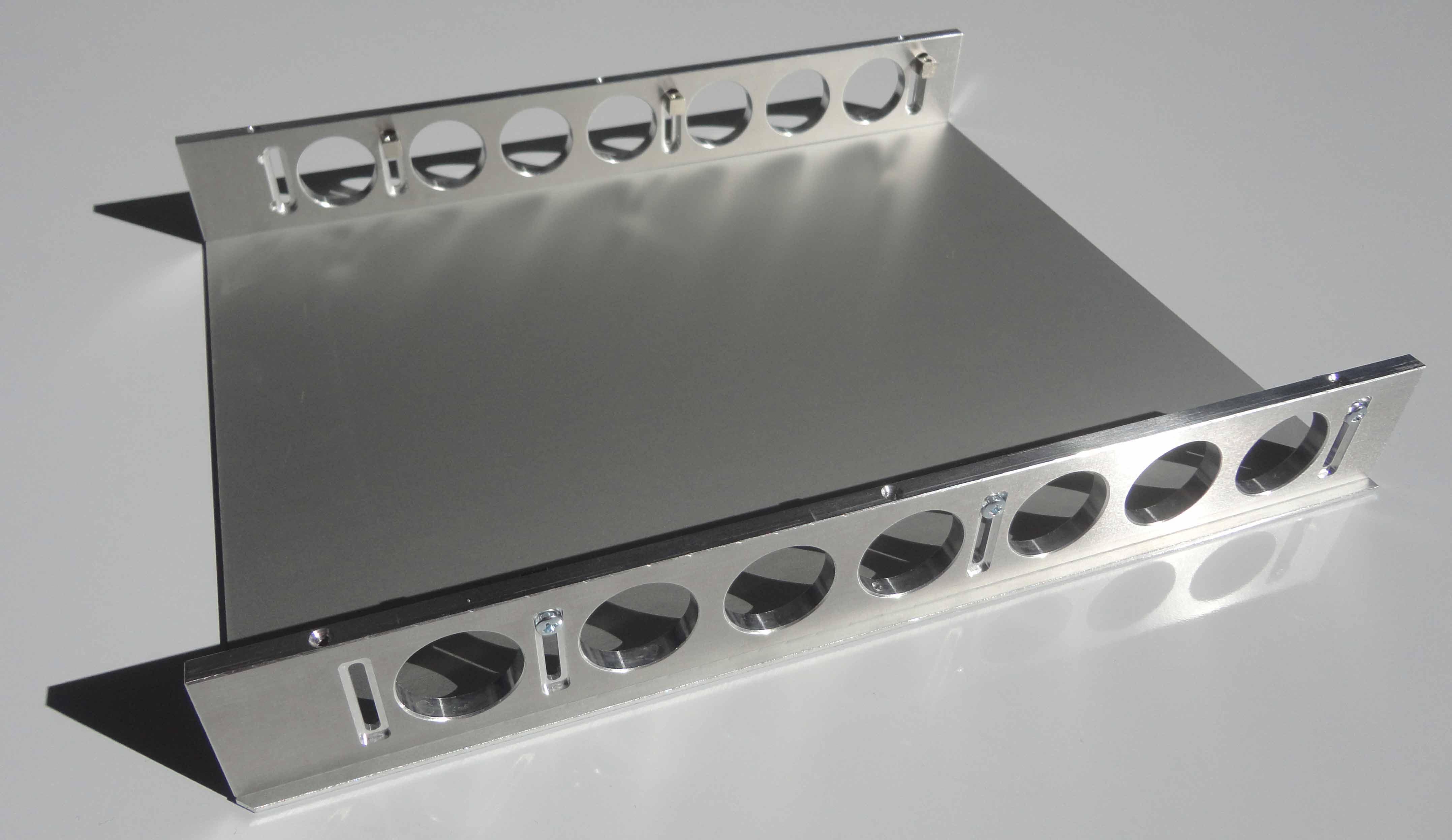 Montage kit de cassette mécanique NIM W-IE-NE-R facade droite flanc inferieur