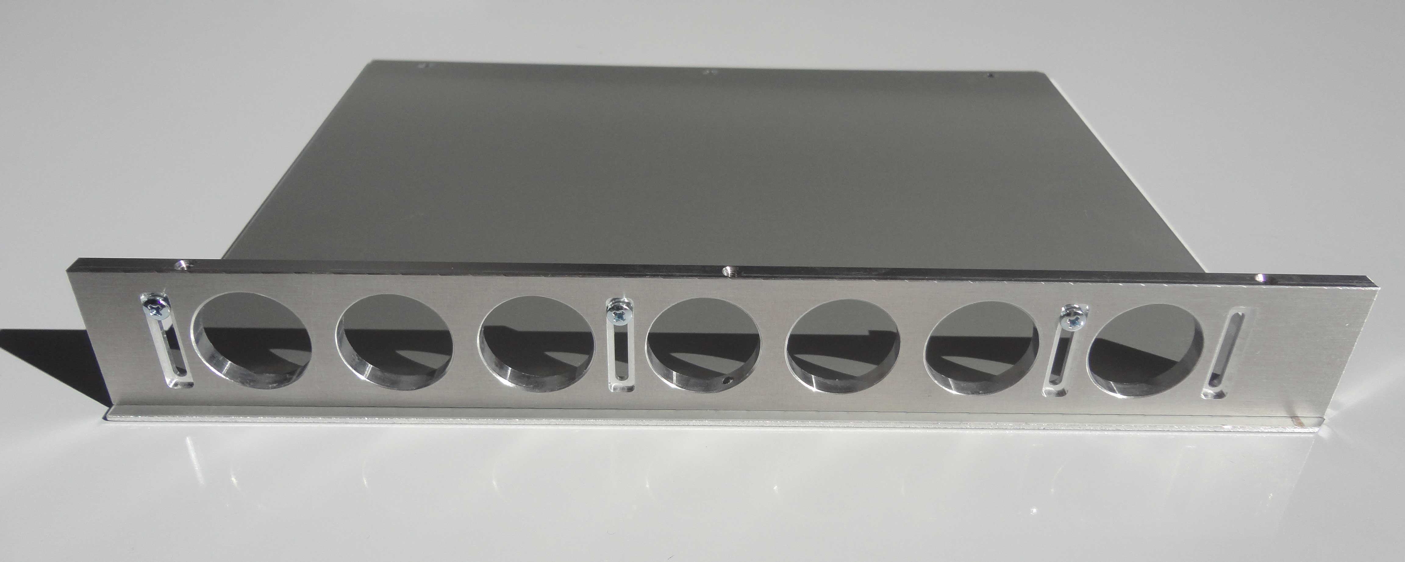 Montage flanc inferieur facade gauche tiroir NIM WIENER