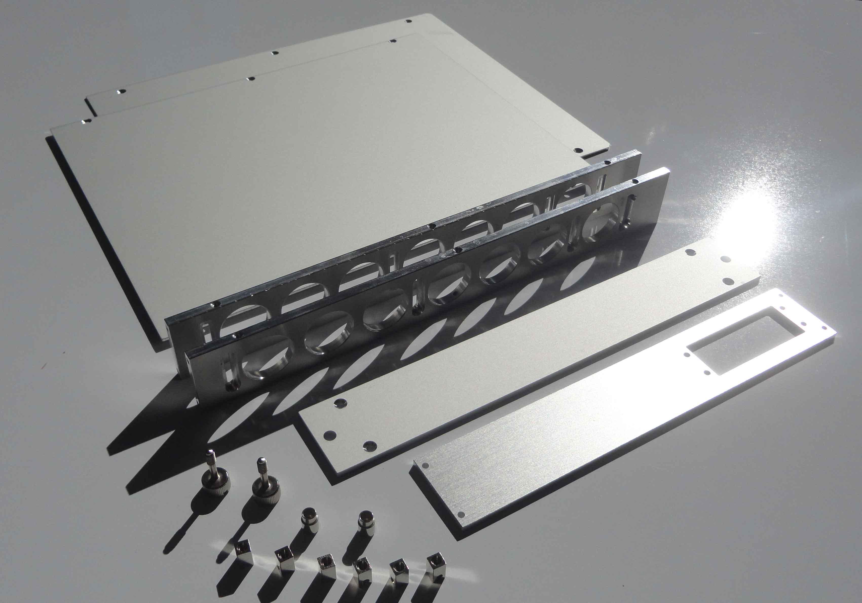 Vue superieure module mecanique NIM WIENER